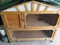 Rabbit Cage - 2 Tier - Used but good condition