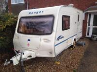 Bailey Ranger 2004/2birth Full awning excellent condition