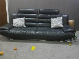 Leather sofa 2 & 3 seaters