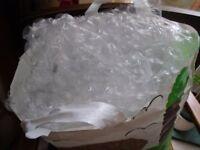 Bag of bubble wrap