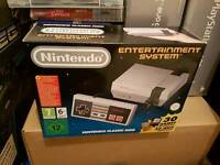 Unopened Mini Nes