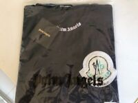 New Palm Spring Men's XL Moncler T Shirt unwanted gift