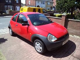 Ford Ka 3 Door Hatchback 1.3 56 Plate Low Mileage Good Condition NG17