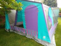 Raclet 6 person frame tent, perfect for family with plenty of space