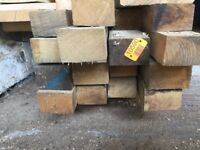 "3""x 2"" Sawn Air Dried Oak Beams Timber"