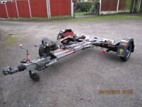 proffesional car dolly braked and plated