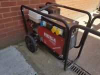 Mosa TS 200 / Petrol Welder Generator / Ready to weld package / New generator rewind / Serviced