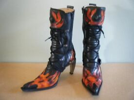 NEW ROCK BOOTS LADIES SIZE 7