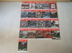 SUNDERLAND AFC MATCHDAY PROGRAMMES 2015-2016 X 21 PLUS OFFICIAL TEAM SHEETS X 21