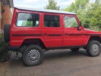 Mercedes G wagon G280 LHD Automatic lwb