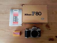 Nikon F80 / N80 35mm Film Camera Body Only