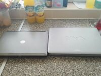 2 x Laptops and extra ram for repair