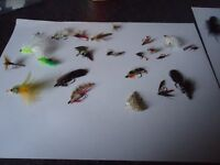 selection of flies around 60