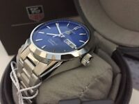 New Swiss Tag Heuer Carrera Calibre 5 STAINLESS STEEL Automatic Watch