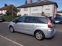 Citroen Grand C4 Picasso 1.6L Exclusive Diesel HDi Automatic with reverse parking sensors