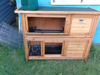 RABBIT HUTCH FREE DELIVERY