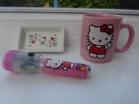Hello Kitty Bundle (Hat, Scarf, Gloves, Mug, Jewelry Tray, Torch)