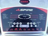 YORK ASPIRE electric treadmill in excellent working condition £145