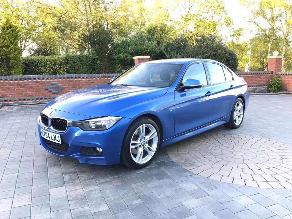 2014 64 bmw 320d m sport auto 5 door blue in hodge hill. Black Bedroom Furniture Sets. Home Design Ideas