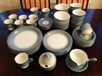 Denby Blue Castille Dinner Service