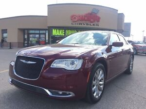 2016 Chrysler 300 LIMITED ALL WHEEL DRIVE NAVI PANO ROOF H-TED S