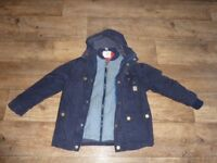 NEXT BOYS COAT 3 IN 1 AGED 7 YEARS £15.00 ONO IN JACKET CLOTHES KIDS WEAR HOOD