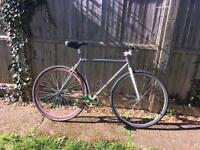 Fixed gear road bike- flip flop hub