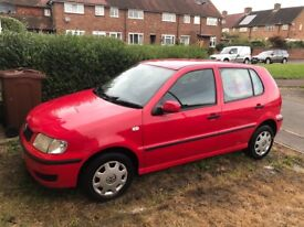 2001 Volkswagon Polo Red 999cc