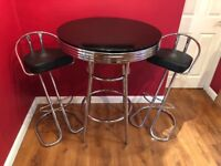 Bar Table and 2x Stool Set - The Cotswold Furniture Company
