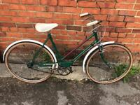Vintage BSA Ladies Town Bike. Serviced, Free Lock, Lights, Delivery