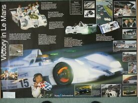 BMW VICTORY AT LE MANS 1999 POSTER