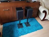 Bowers & Wilkins dm 303 with Apollo stands