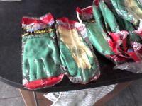 Builder's/gardener's gloves