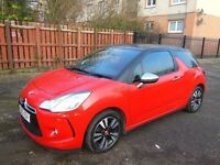 CITROEN DS3 1.6 VTI 120 DSTYLE PLUS, 39,000 miles, only 2 owners from new