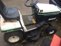 Bolens ST120 and ST160 Ride on lawnmower Mower Briggs engines good decks both ready for work