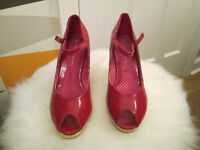 VARIOUS LADIES SHOES - SIZE 5 - SIZE 7- FROM £5.00 PER PAIR - VGC