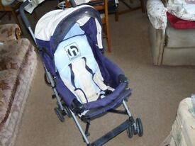 Hauck Baby Stroller with Rain Cover and Buggy Snuggle