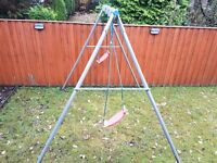 TP Double Metal swing and seats for sale (dismantled)