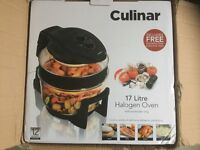 Culinary halogen oven