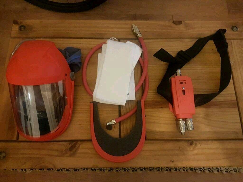 Devilbiss Air Fed Full Face Mask Kit MPV-623