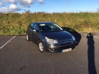 VERY LOW MILEAGE AUTOMATIC CITREON C4 SALOON WITH NEW 12 MONTH MOT, CAMBELT & WATERPUMP