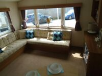 Static caravan Devon 12 month pet friendly park by the sea