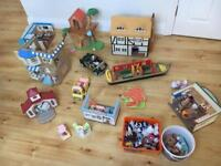 Sylvanian Families huge bundle including at least 11 items plus approx 9 families and accessories