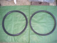 Two Unused Bicycle Tyres - 2 for £15.00