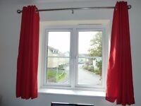 Curtains - Red or Navy