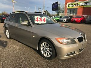 2008 BMW 3 Series AWD/NO ACCIDENT/SAFETY/WARRANTY INCLUDED