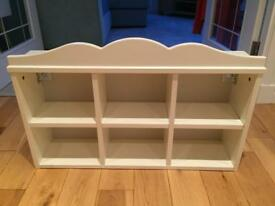 Ikea Hensvik White Wall Shelf Unit