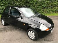FORD KA IN GLOSS BLACK WITH ELECTRIC PACK