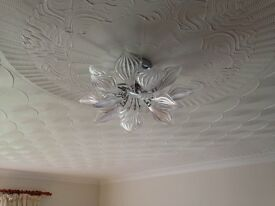 Grosvenor Semi Flush Clear Ceiling Lights