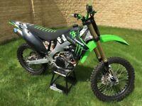 Kawasaki KXF 250 KX 250 2012 EFI Motocross Bike